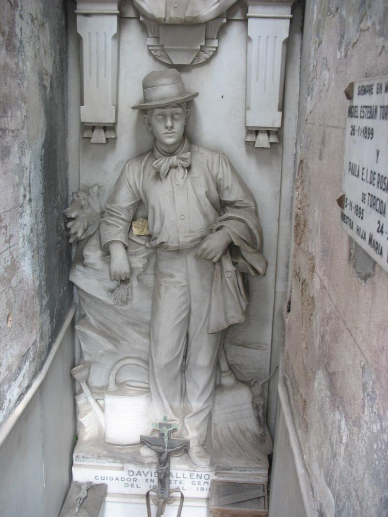 David Allano tombstone